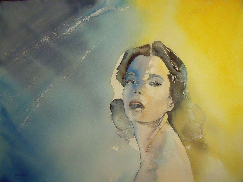 Romy Schneider by Olivia Quintin