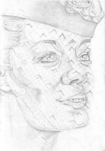Romy Schneider by Malorie Dubos