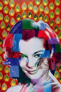 Romy Schneider by Renaud Delorme