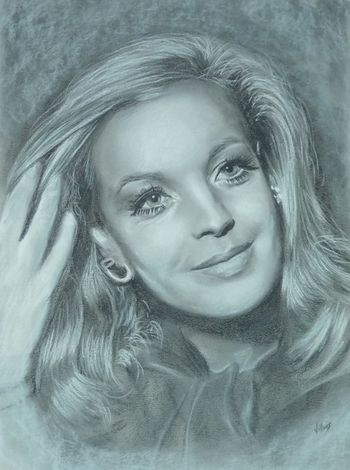 Romy Schneider by TitiPicasso