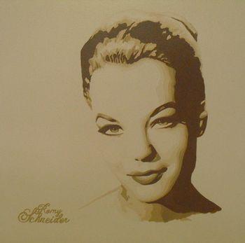 Romy Schneider by Anissa Zeddam