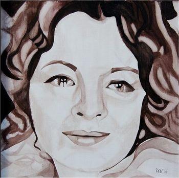 Romy Schneider by Ulla Wobst