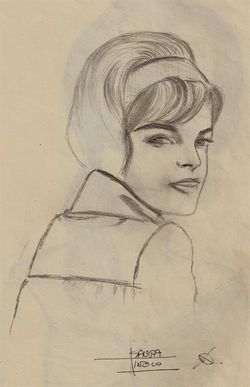 Romy Schneider by Isaura