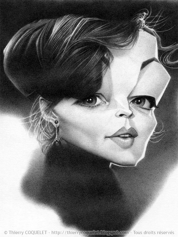 Romy Schneider by Thierry Coquelet
