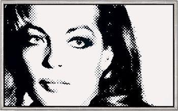 Romy Schneider by Janos Schaab
