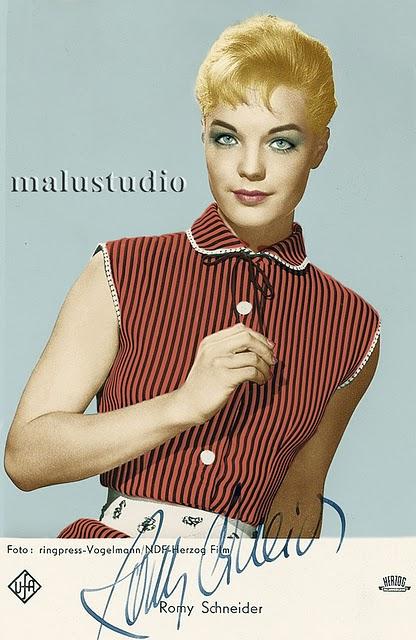 Romy Schneider by Malustudio (08)