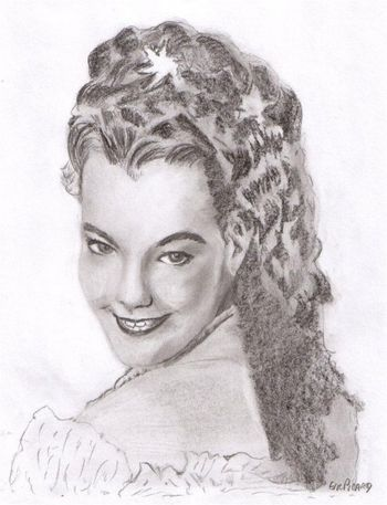 Romy Schneider by Dessinsagogo55