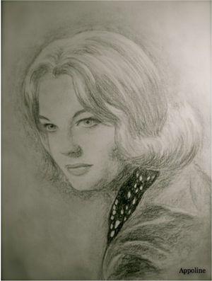Romy Schneider by Appo1234