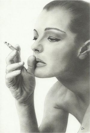 Romy Schneider by Cat70