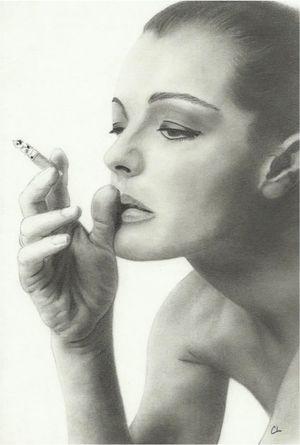 Romy Schneider by Cat70
