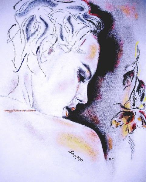 Romy Schneider by Laurence Vernholes