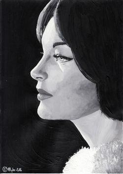 Romy Schneider by Mylou (02)
