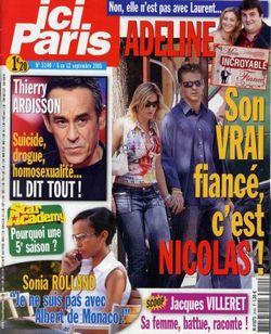 2005-09-06 - Ici Paris - N 3140