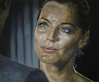 Romy Schneider by Thibaud Langlumé