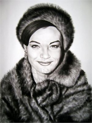 Romy Schneider by Khaled3Ken