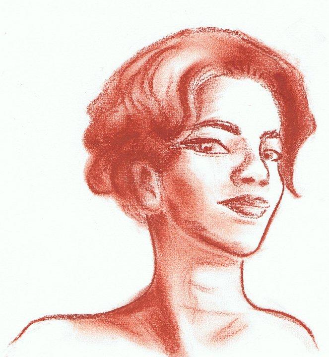 Romy Schneider by Diddha