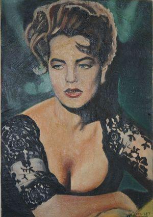 Romy Schneider by Claudine Paulet