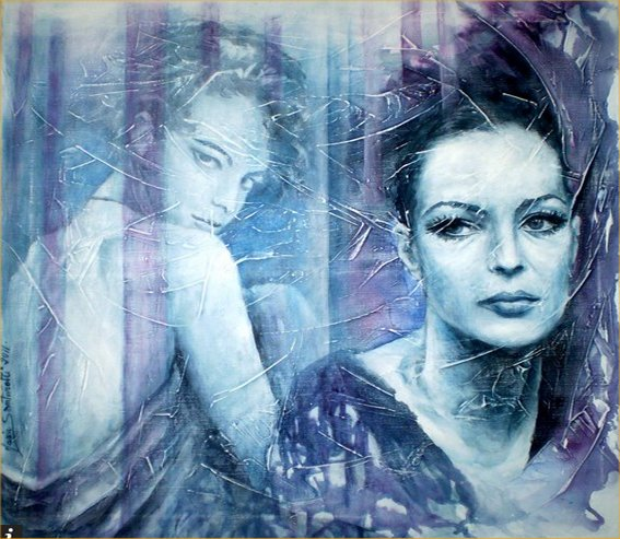 Romy Schneider by Maria Santarelli 01