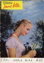 1959-04-30 - Fillette Jeune Fille - N° 667