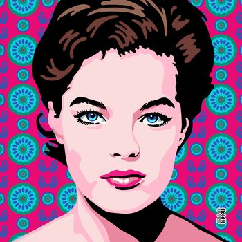 Romy Schneider Pop Art 13