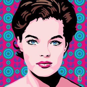 Romy Schneider Pop Art 13