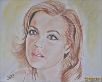 Romy Schneider by Jackie To