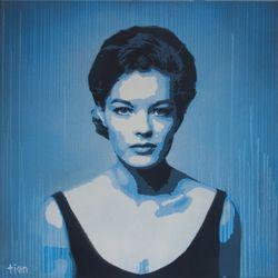 Romy Schneider by Tian (01)