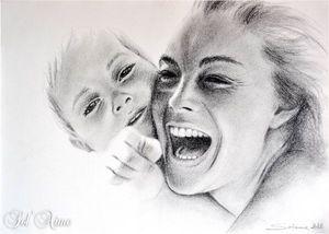 Romy Schneider by M-Solaine