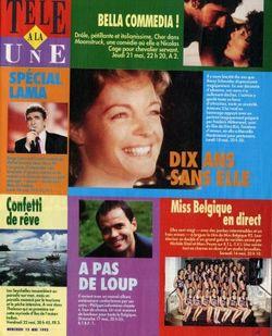 1992-05-13 - Télé à la Une