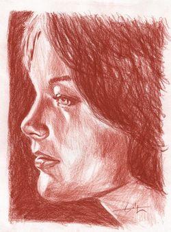 Romy Schneider by Philippe Flohic - 01