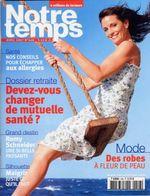 2007-04-00 - Notre Temps - N° 448