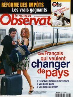 2005-09-22 - Nouvel Observateur - N 2133