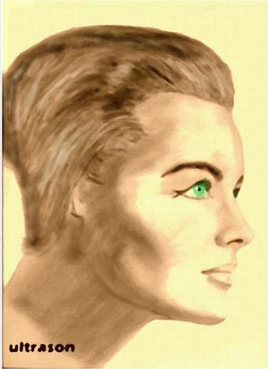 Romy Schneider by Ultrason