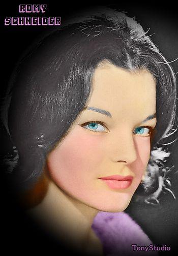 Romy Schneider by Cine vintage