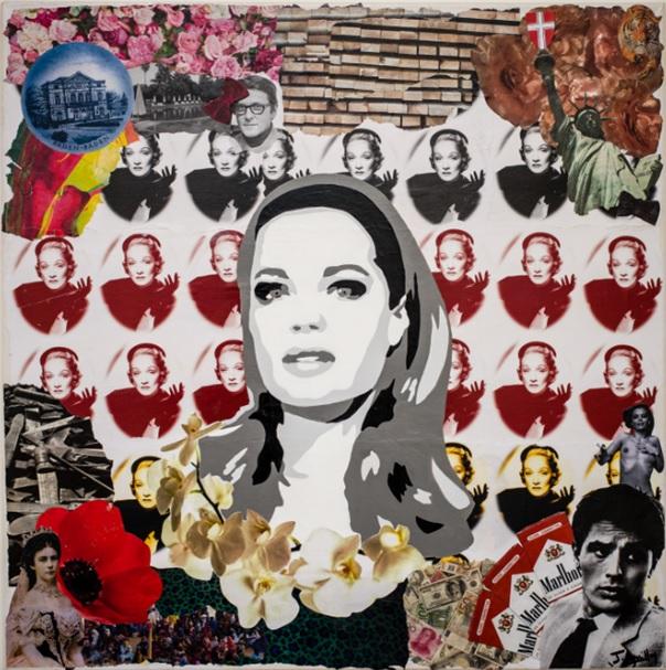 Romy Schneider by Jessica Leguillon