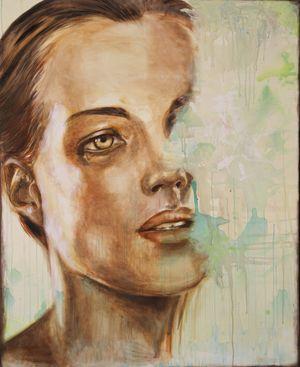 Romy Schneider by Mirja Gastaldi