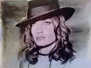 Romy Schneider by Loxav