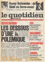 1982-05-31 - Quotidien Paris - N 780