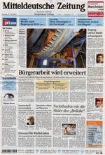 2007-05-29 - Mitteldeutsche Zeitung - N° 122