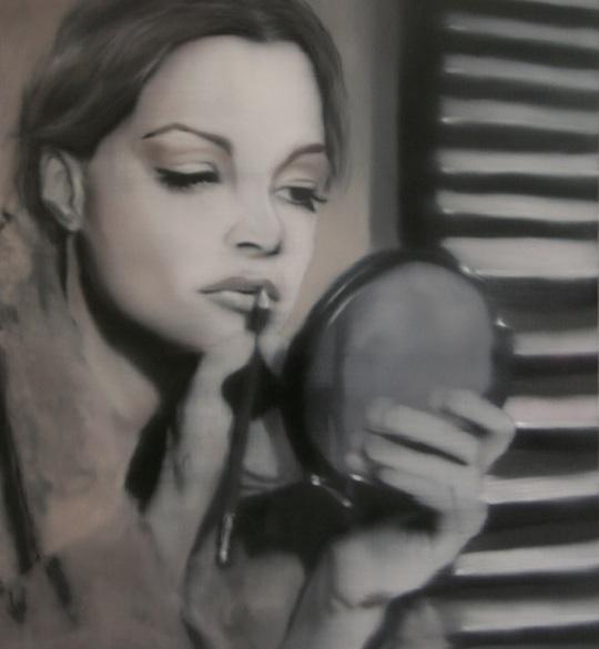 Romy Schneider by Thomas Strobl (1)