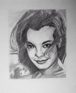 Romy Schneider by Thedreadfulpencil