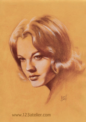 Romy Schneider by Hell Bay (1)