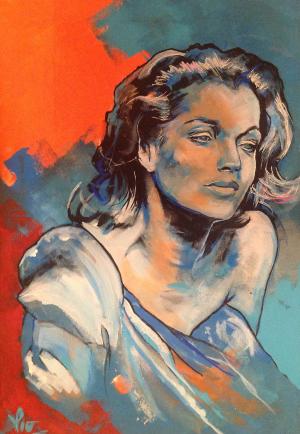 Romy Schneider by Lio (1)