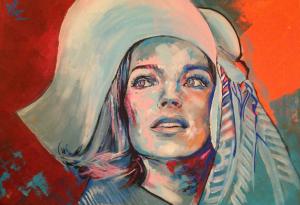 Romy Schneider by Lio (2)