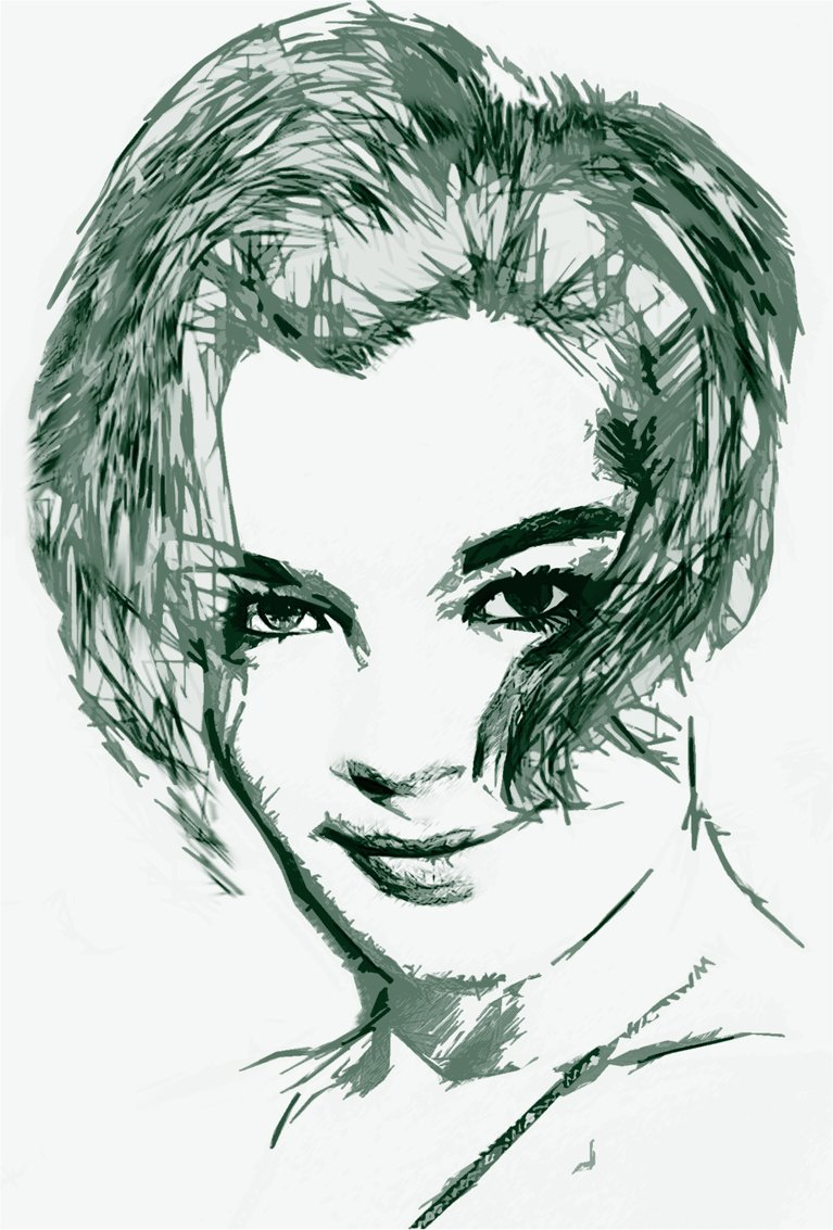 Romy Schneider by Superwalta