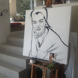Romy Schneider by Theo Swinkels 2
