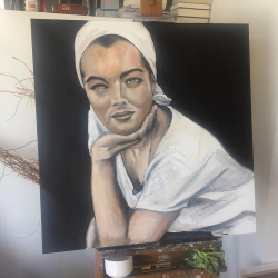 Romy Schneider by Theo Swinkels