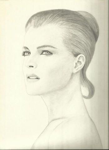 Romy Schneider by David Hatton