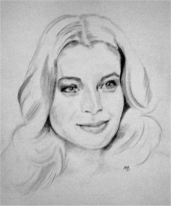 Romy Schneider by MariDessinCrayon