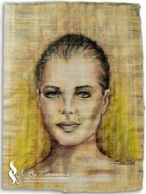 Romy Schneider by M-Solaime 02